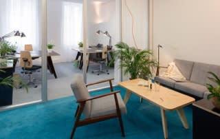 Le siège social de son entreprise en plein coeur de Marseille.