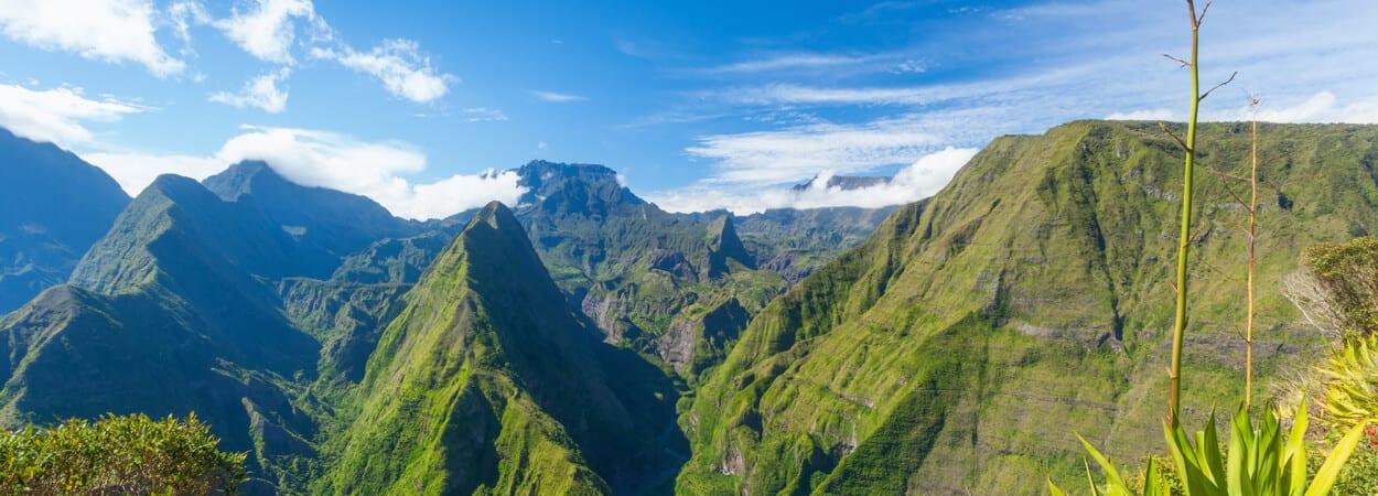 La ville de Saint-Denis sur l'Île de la Réunion profite d'une réelle attractivité entrepreneuriale.