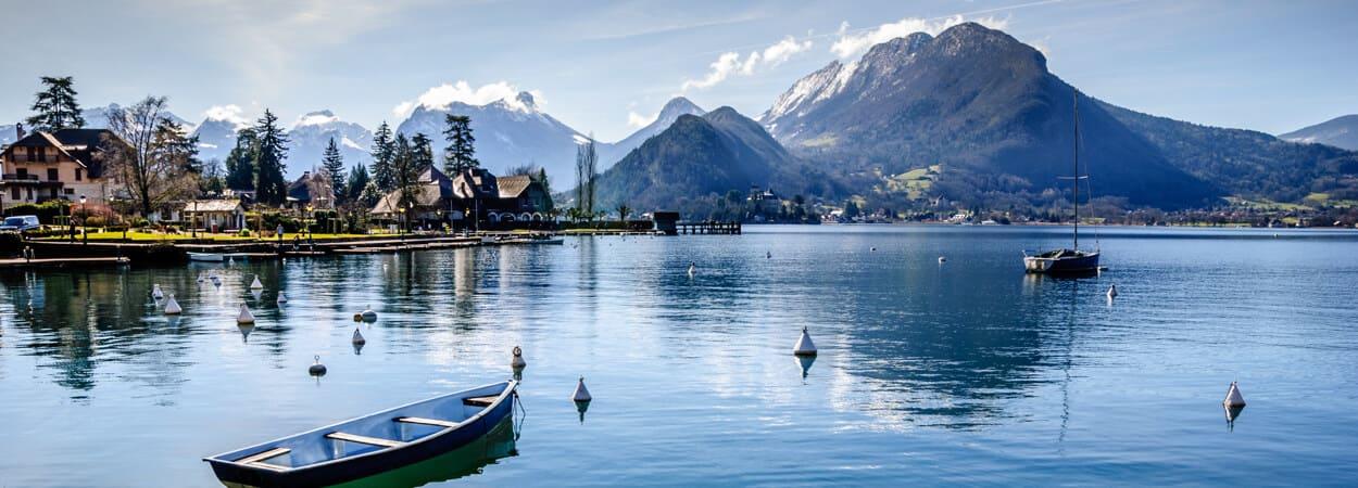 Annecy, ville en plein essor, est source de réelles opportunités pour les créateurs d'entreprise