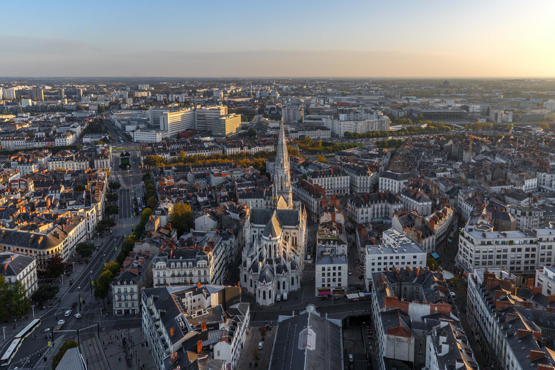 Le centre-ville de Nantes est parfait pour domicilier son adresse de siège social.