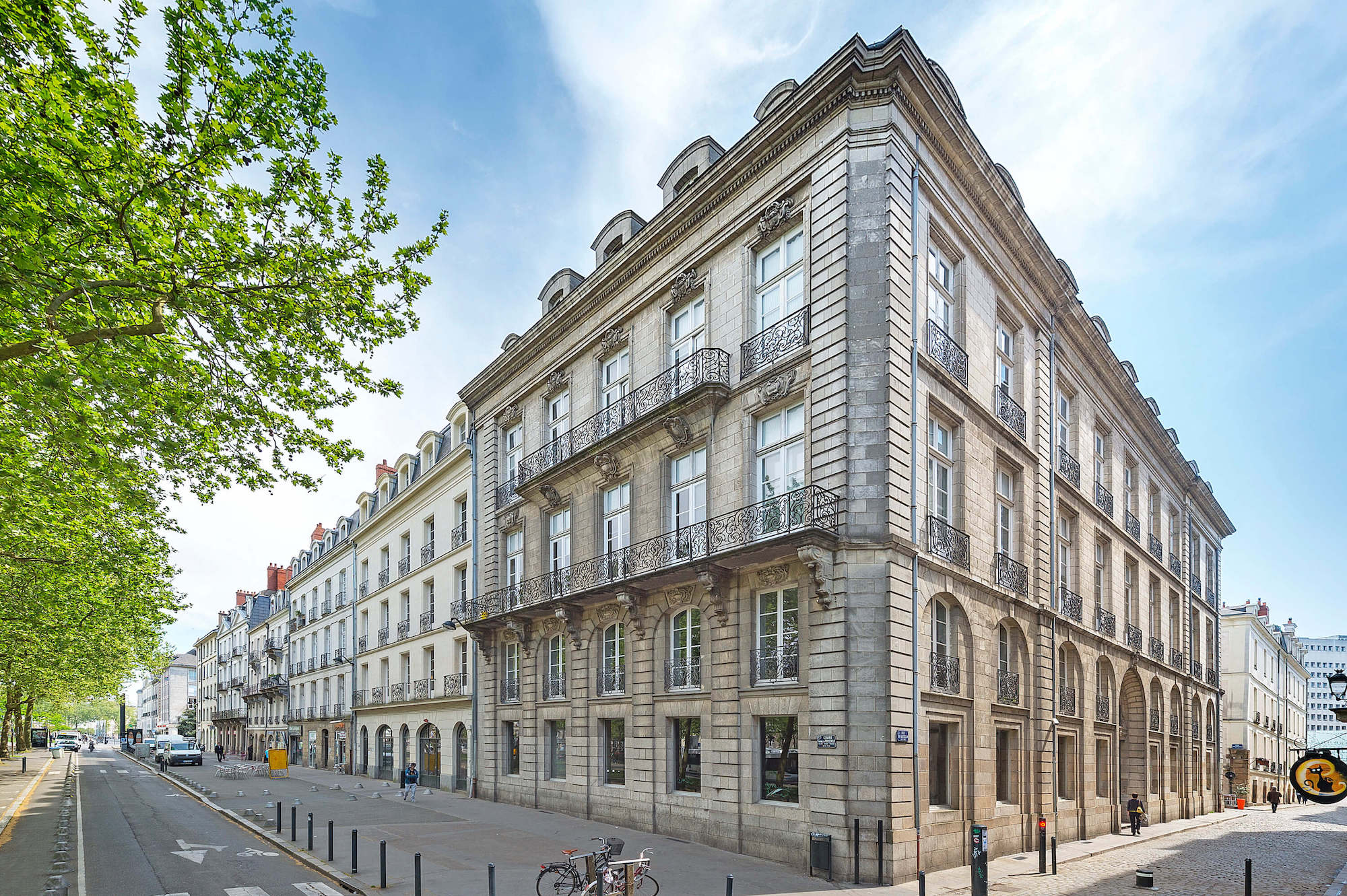 Notre centre d'affaires est situé en plein coeur de Nantes.
