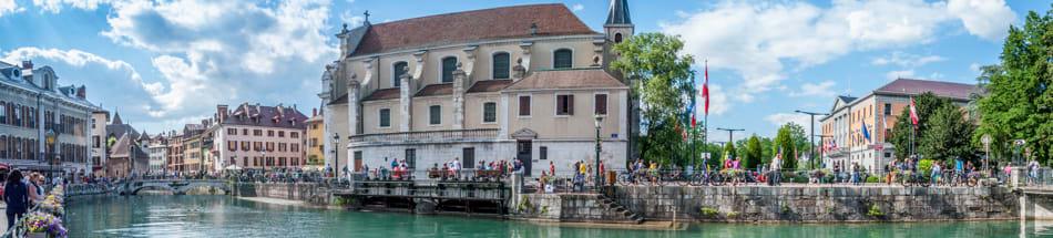 Annecy, une ville au dynamise entrepreneurial croissant