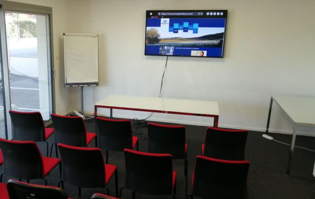 Notre centre d'affaires vous permet d'organiser des réunions