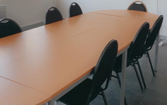 Des salles de réunion pour accueillir clients, prospects ou partenaires.