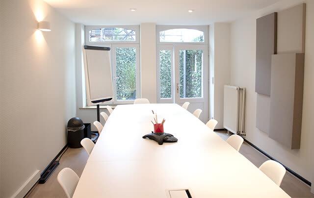 Des salles à votre disposition selon réservation pour vous réunir avec vos collaborateurs.