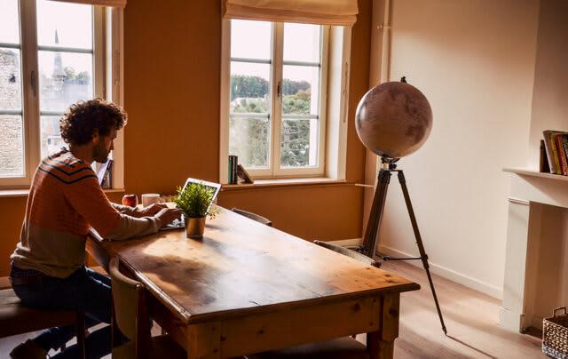 Des salles de travail dédiées pour vous concentrer sur votre activité.