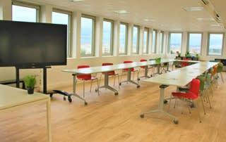 Des salles de réunions pour recevoir vos clients et partenaires