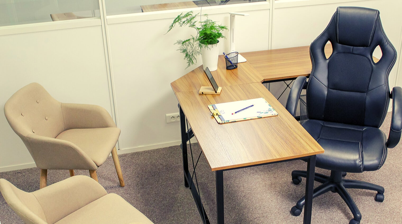 Des bureaux à louer pour exercer votre activité en tout tranquillité.