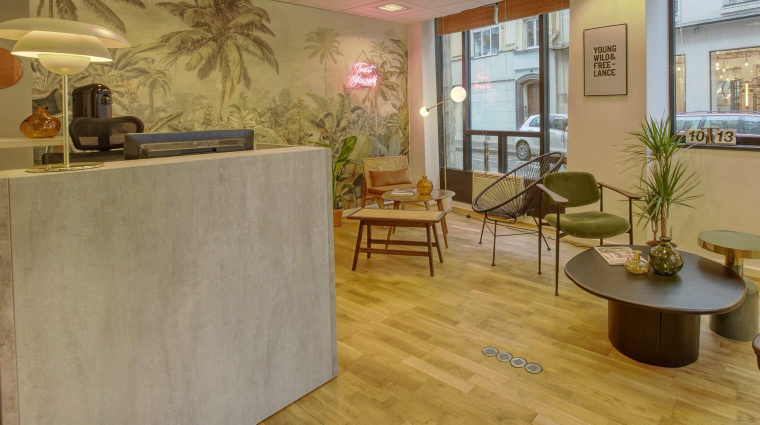 Un centre d'affaires prêt à vous accueillir vous et vos clients.