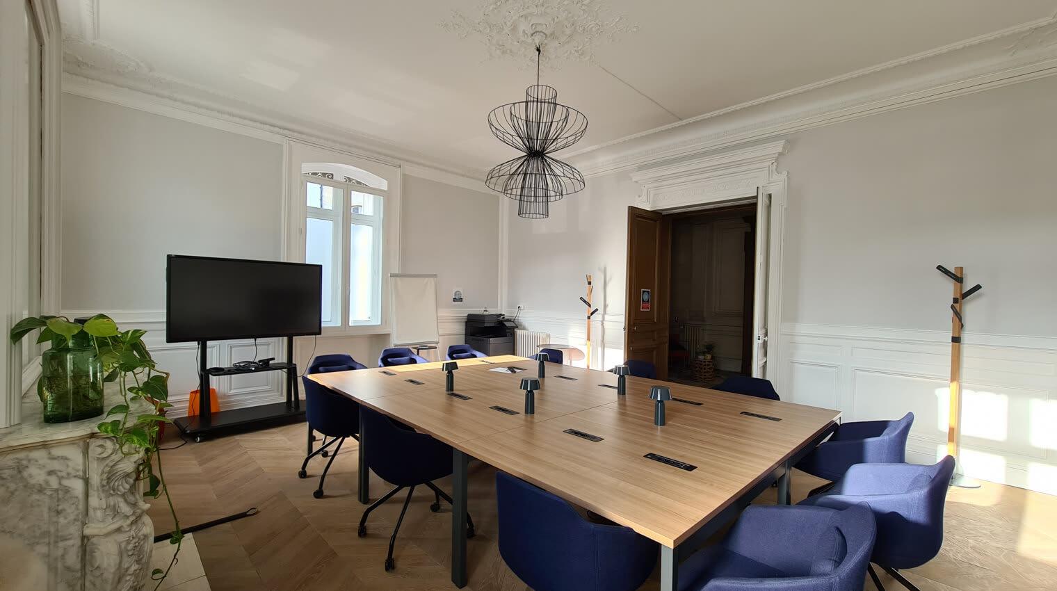 Des salles de réunion spacieuses pour vos meeting les plus importants.