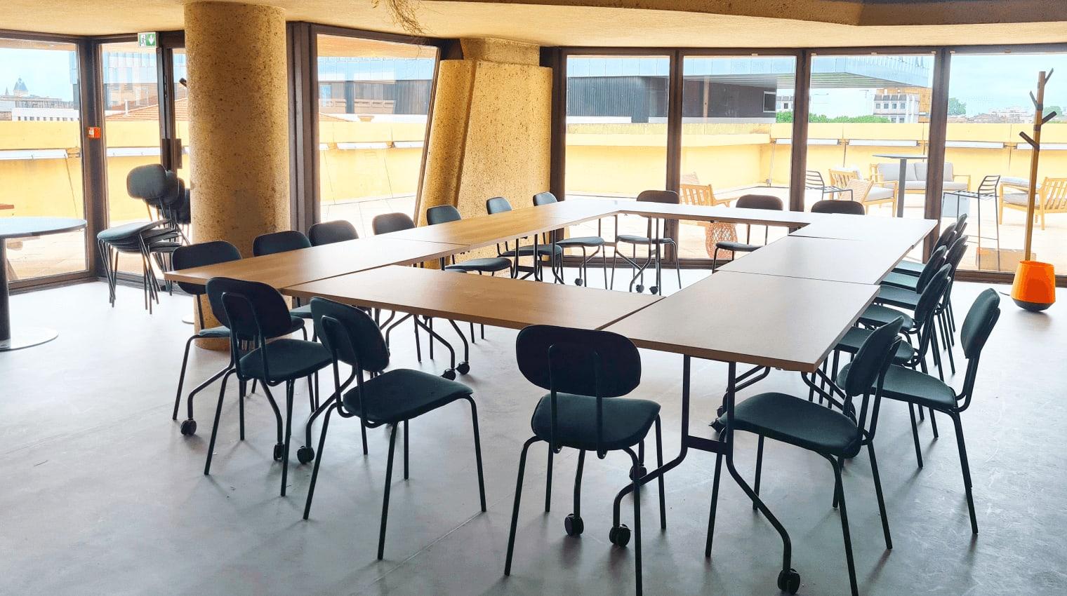 Un espace entièrement équipé dans notre centre d'affaires à Bordeaux