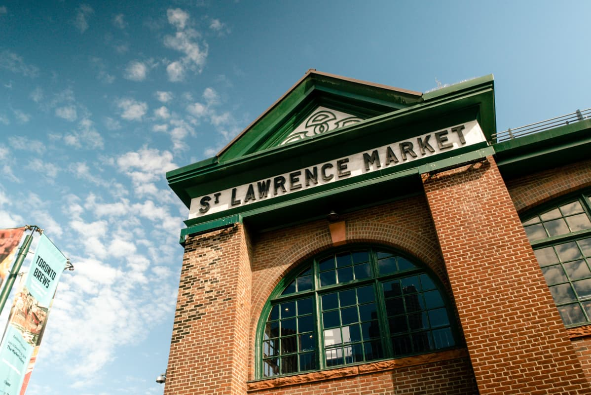 St. Lawrence Market Entrance