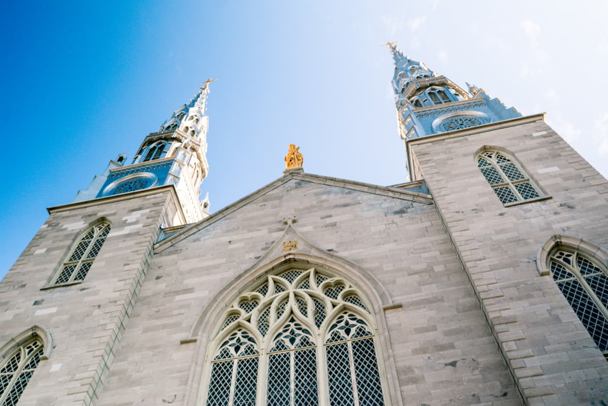 Notre-Dame Cathedral in Ottawa