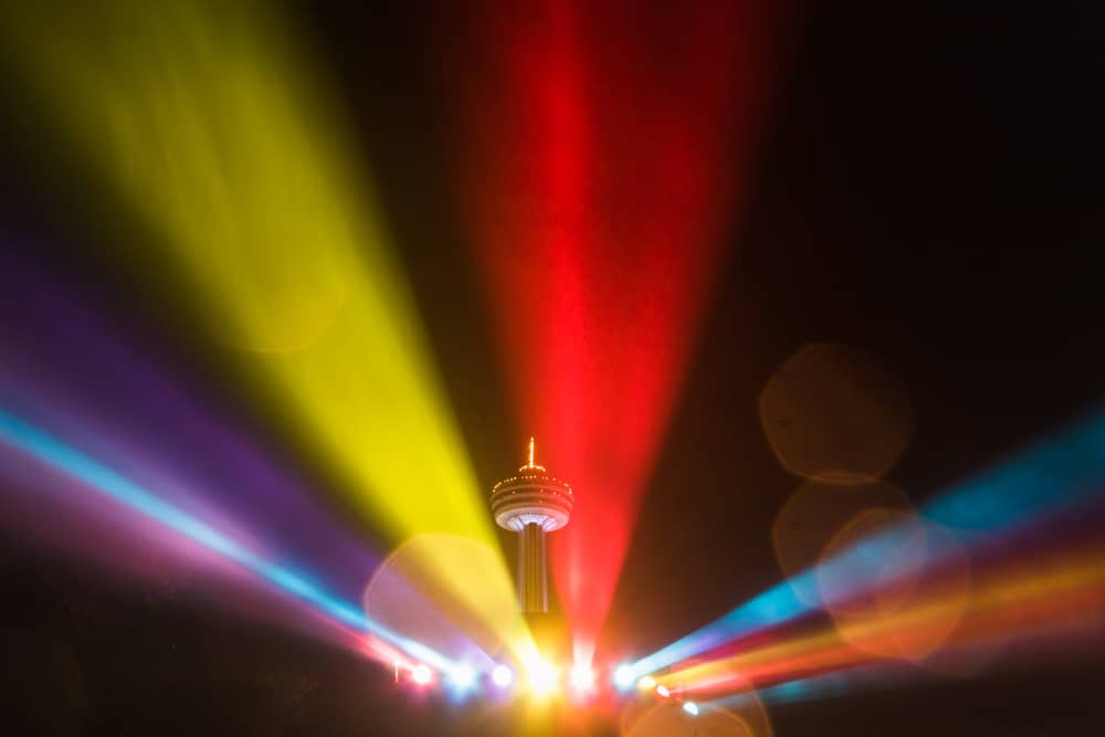 Illumination Tower in Niagara Falls