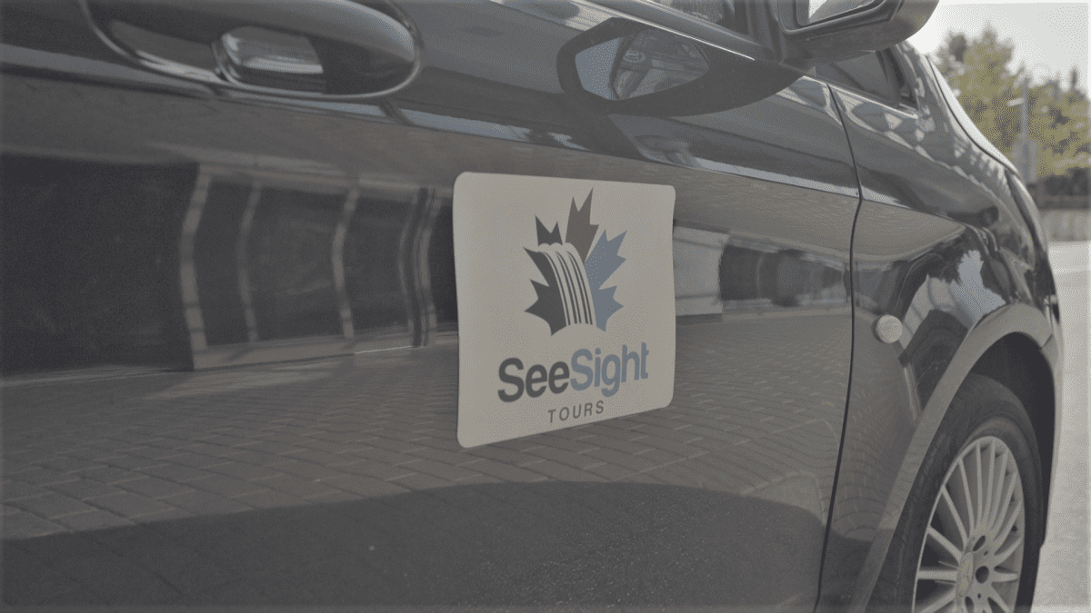 See Sight Tours Van
