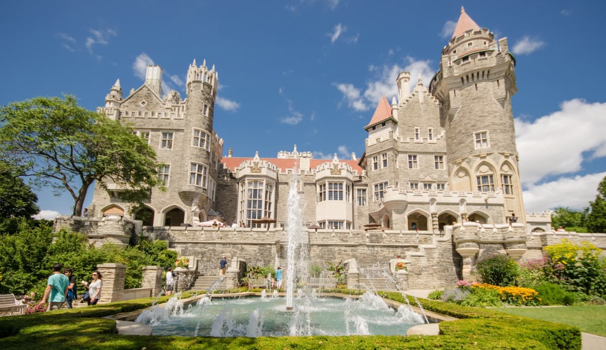 Casa Loma in Summertime
