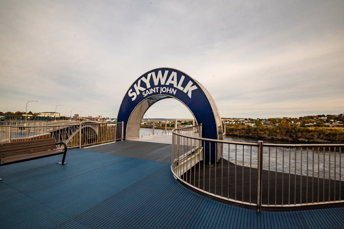Skywalk in Saint John New Brunswick