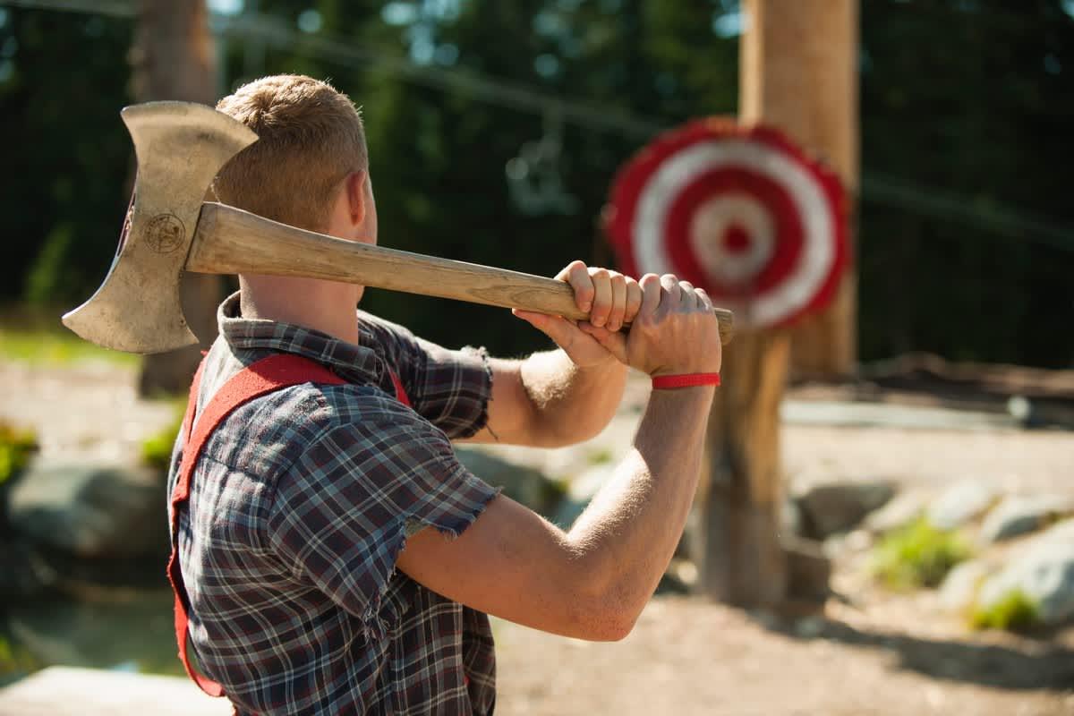 Grouse Mountain Canadian Lumberjack Show