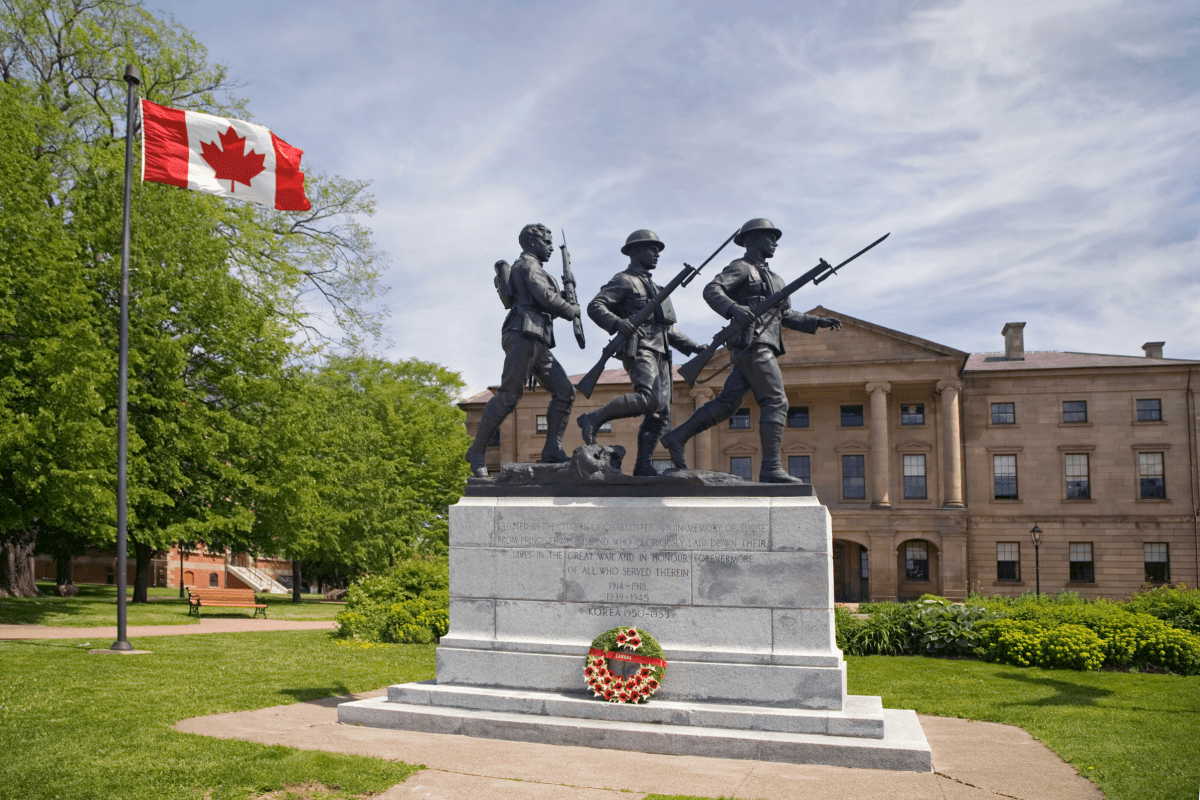 Charlottetown War Memorial Province House