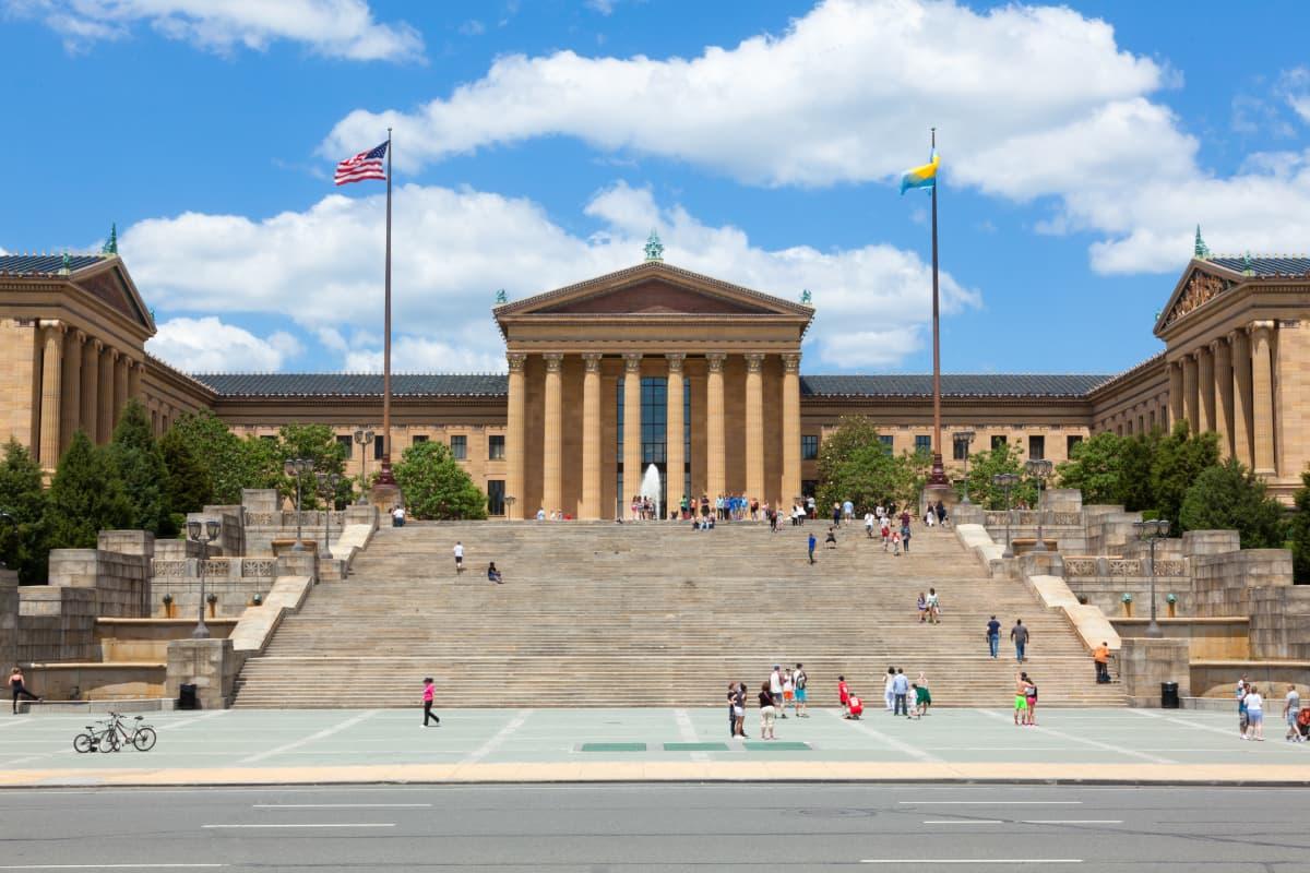 Rocky Steps at Philadelphia Art Museum