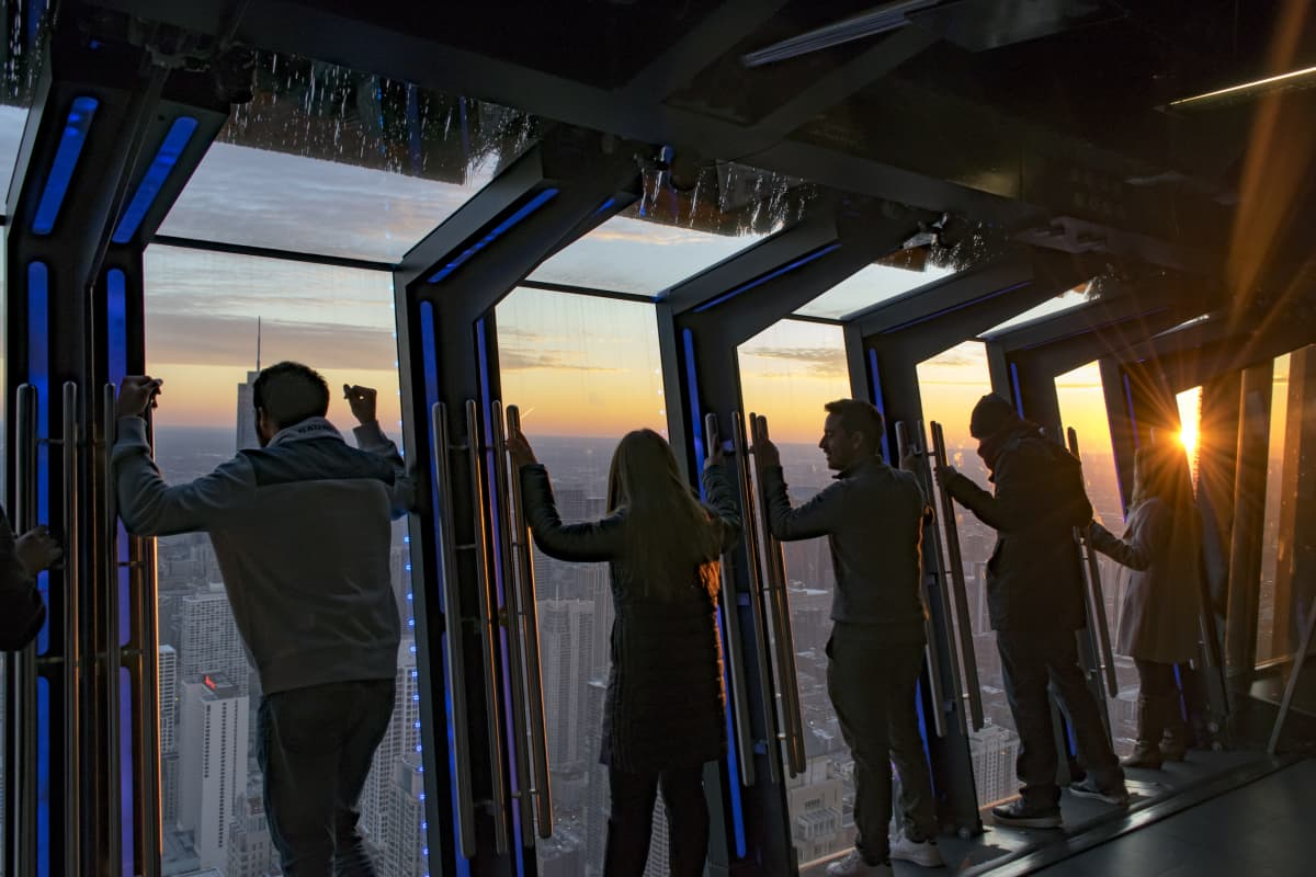 Tilt Experience at the 360 Tower in Chicago