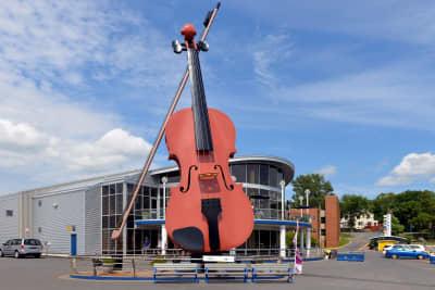 Giant Fiddle Sydney Nova Scotia