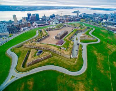 Citadel Hill Aerial View