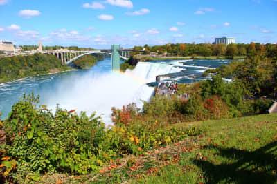 View of Niagara Falls from Goat Island