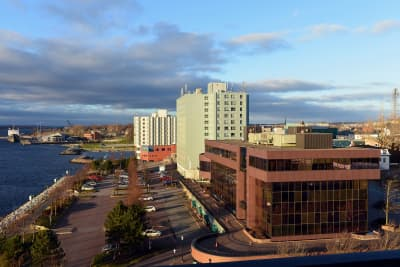 Downtown Sydney Nova Scotia