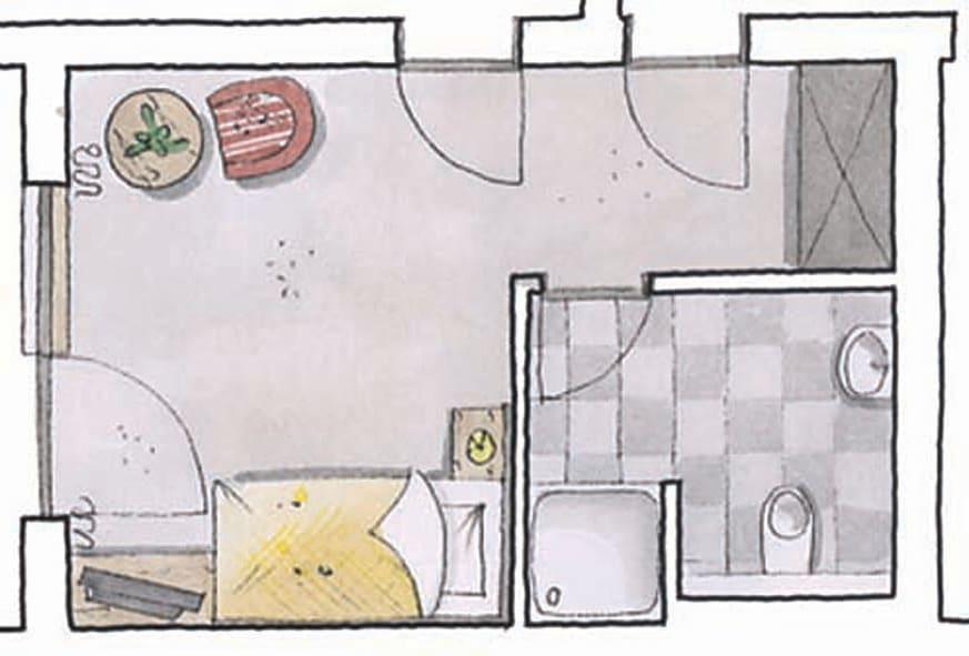 Einzelzimmer Alpbach
