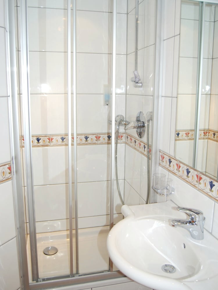 Beispiel Badezimmer Einzelsimmer