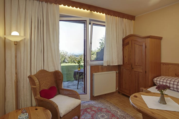 Panoramablick Einzelzimmer