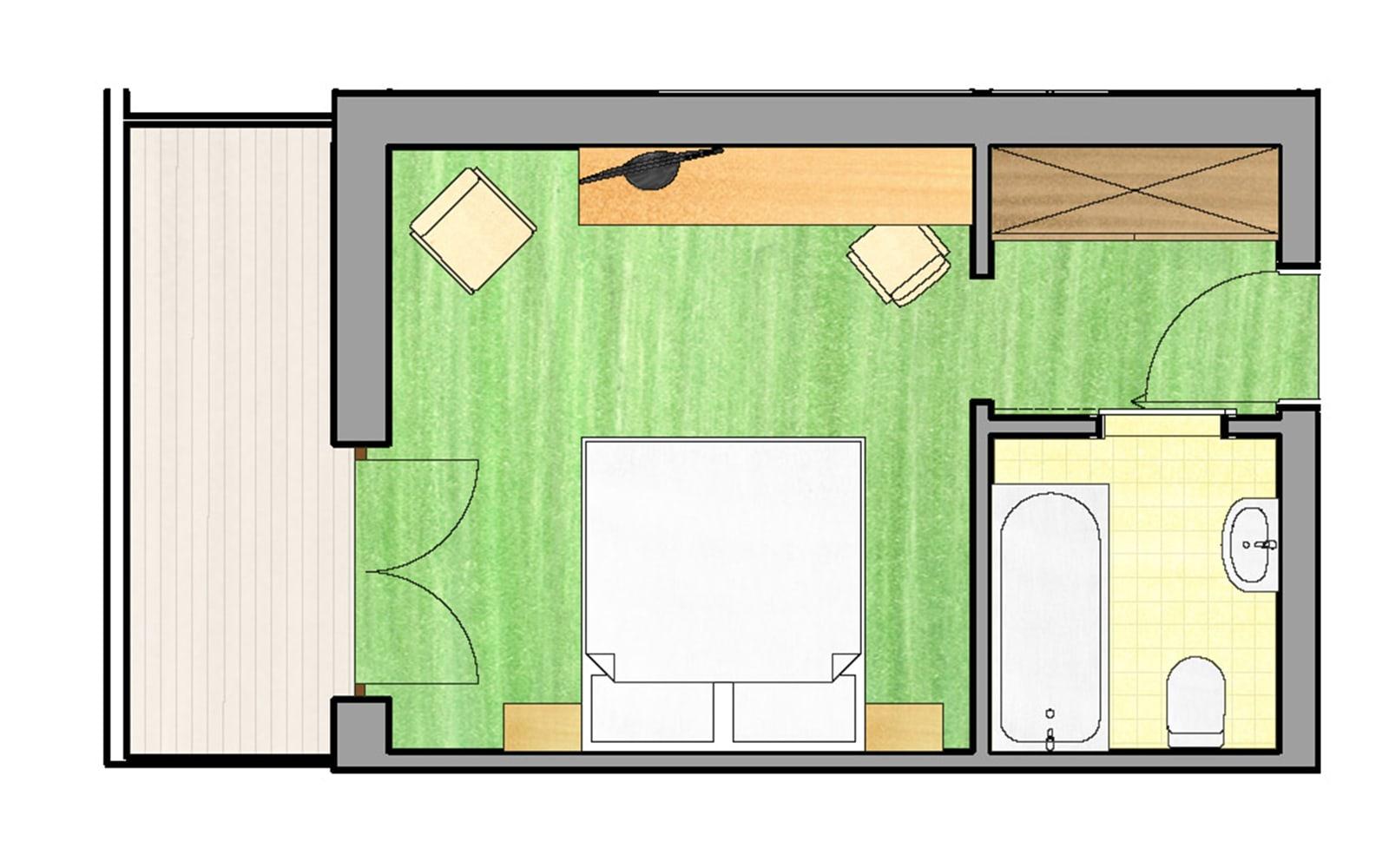 Doppelzimmer Heidi