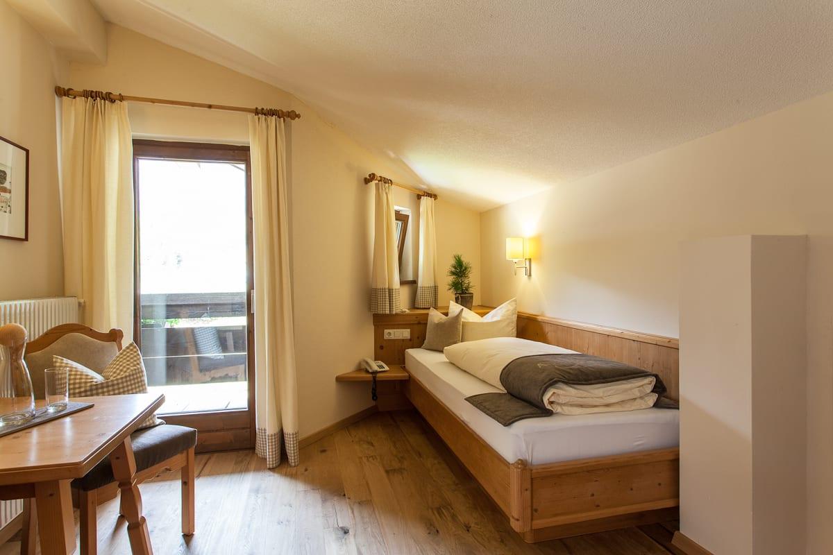 'Natur Raum' - Einbettzimmer