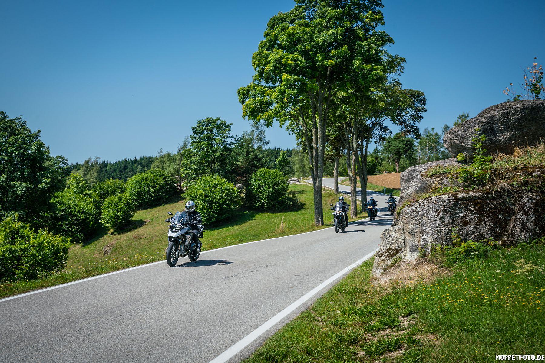 BMW Testtage Motorradtour