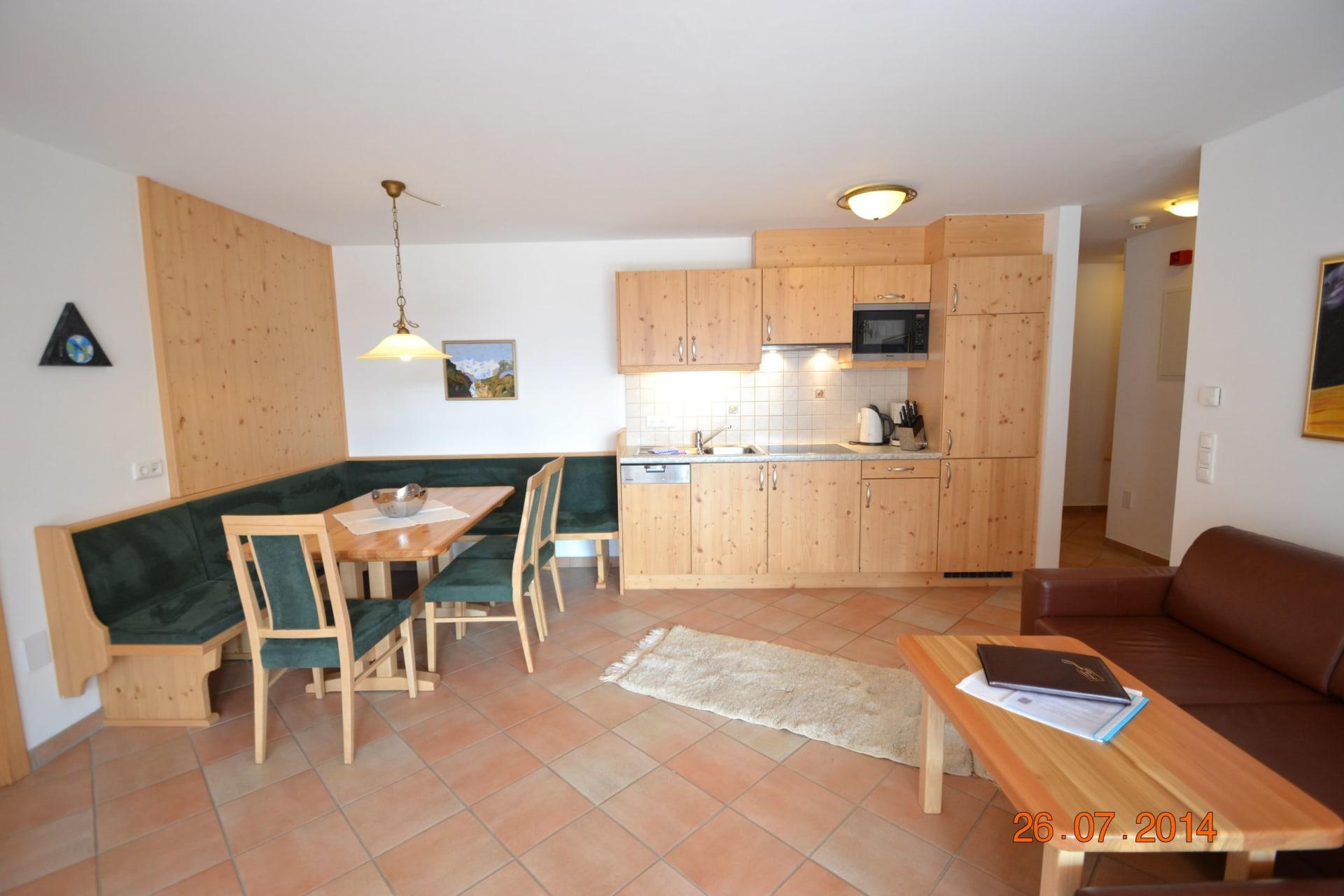 3 Zimmer Appartement Erde