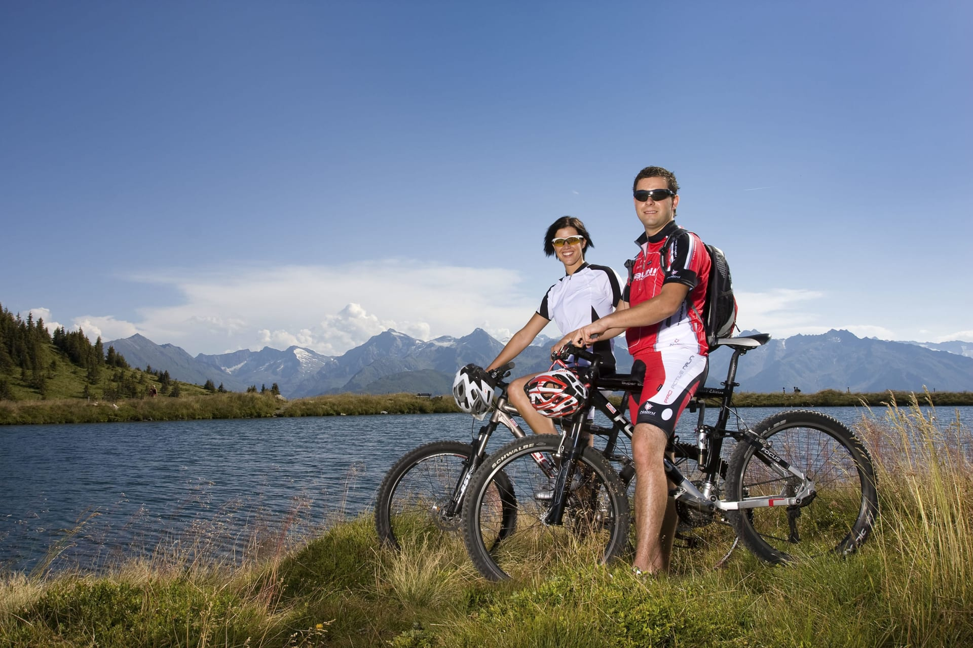 E-Biken durch den Pinzgau