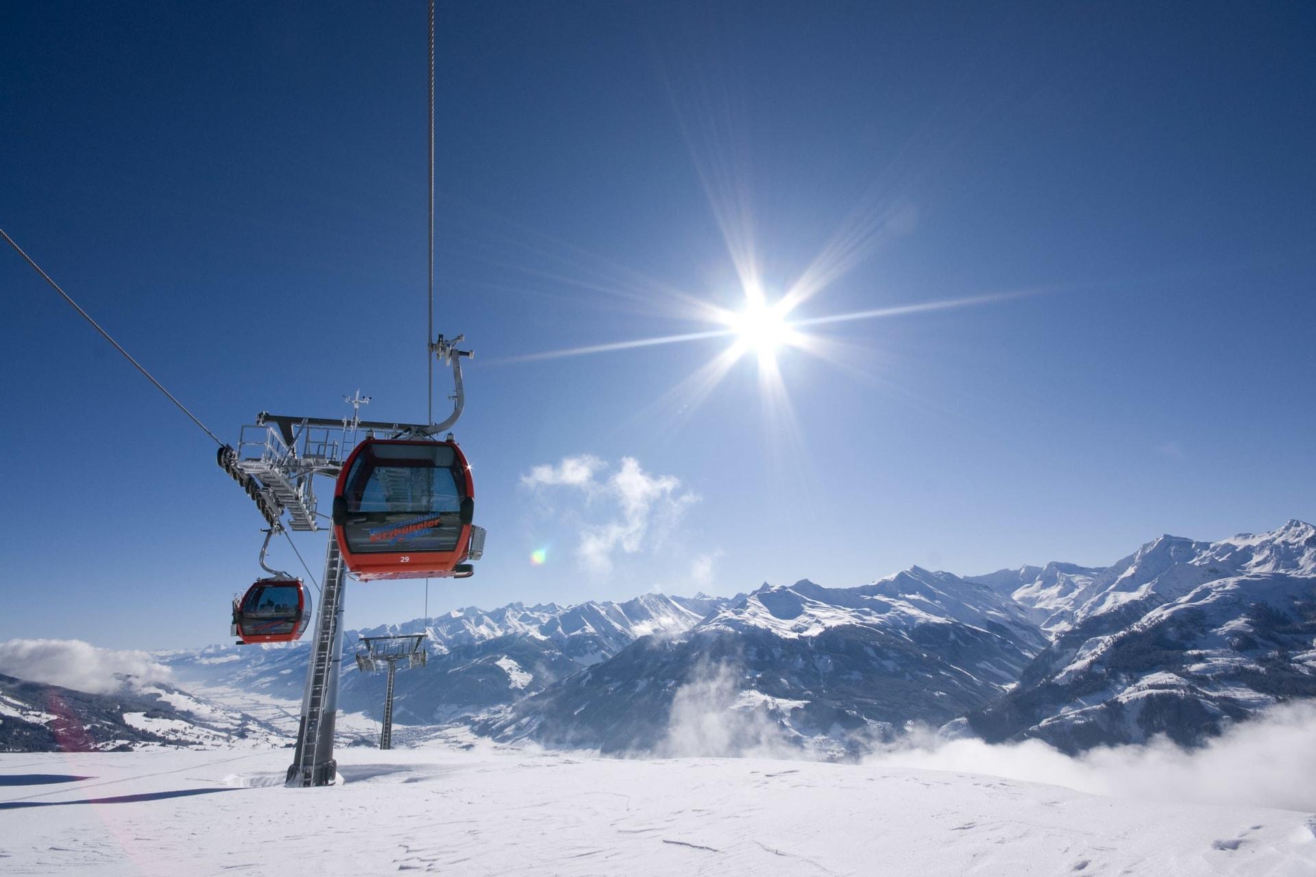Sonnenskilauf 5 Übernachtungen mit 4-Tages-Skipass
