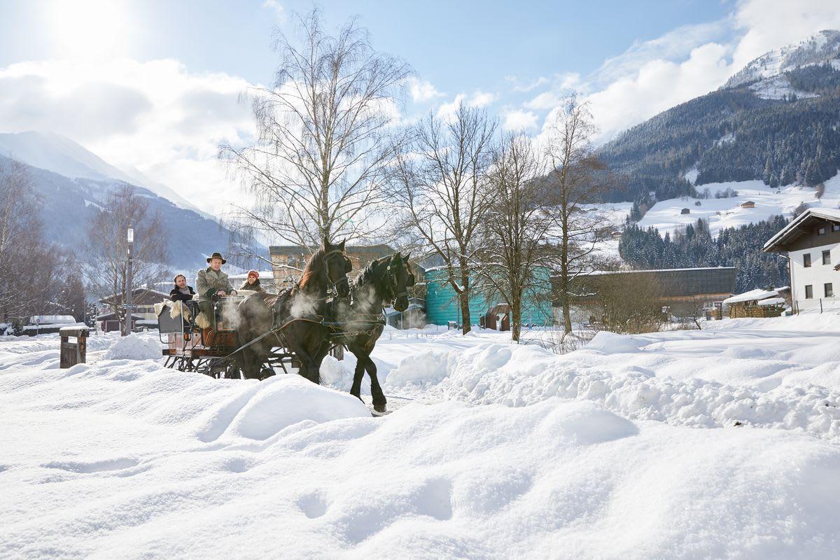 Winter-Romantik & Pferdeschlittenfahrt