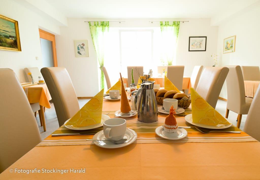 Frühstücks Tisch