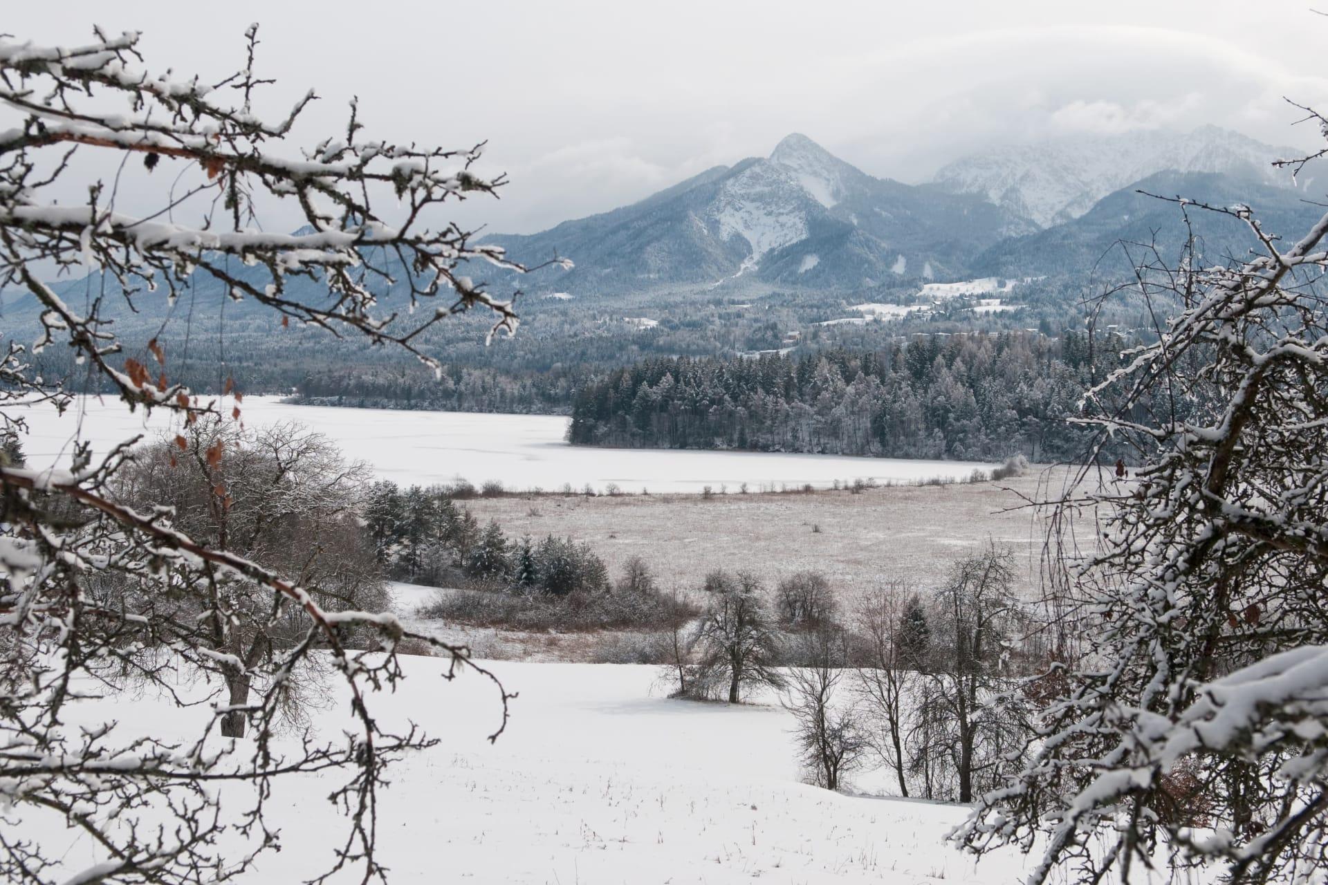 Winterbild Mittagskogel
