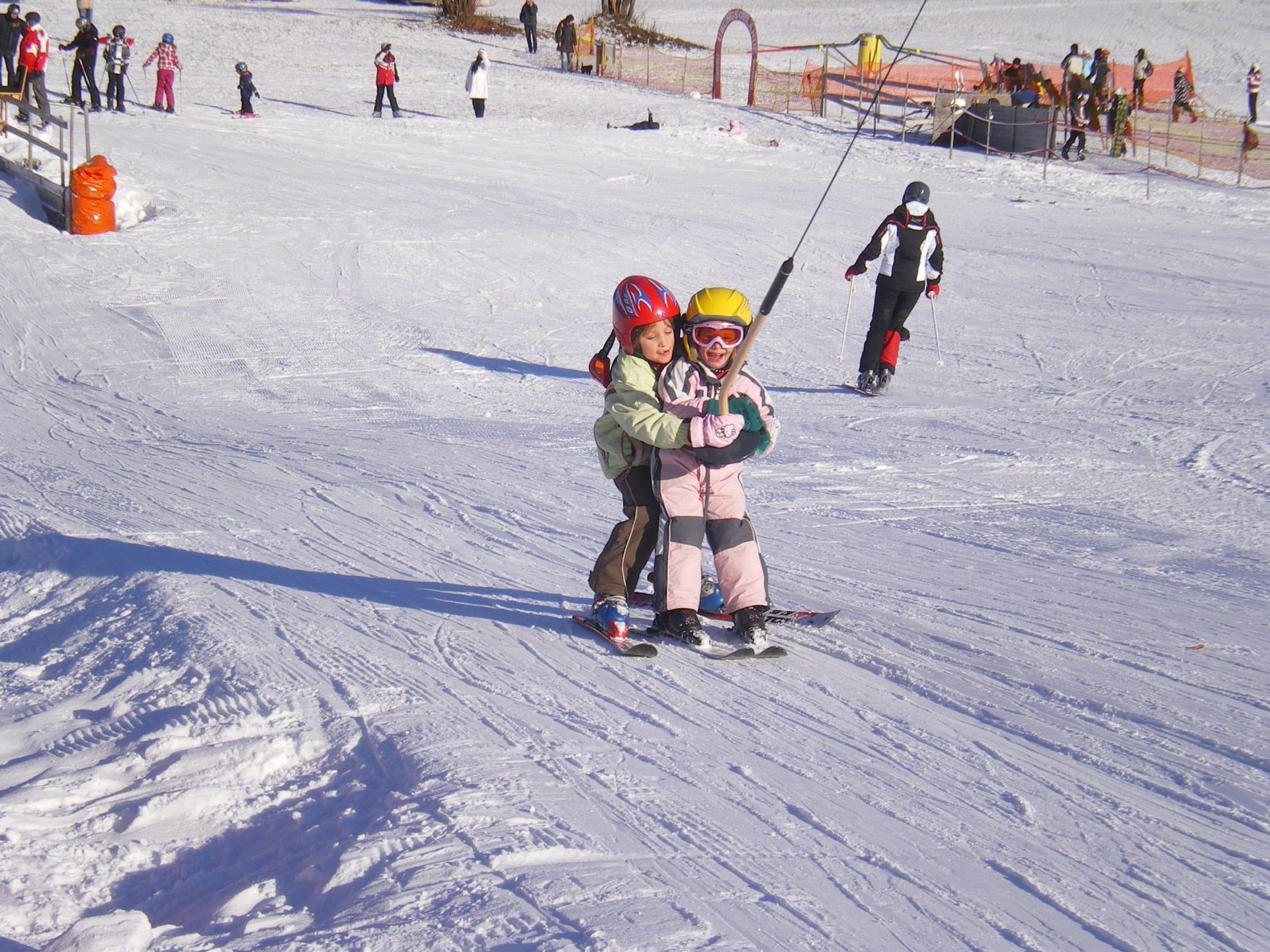 Aktivität schifahren