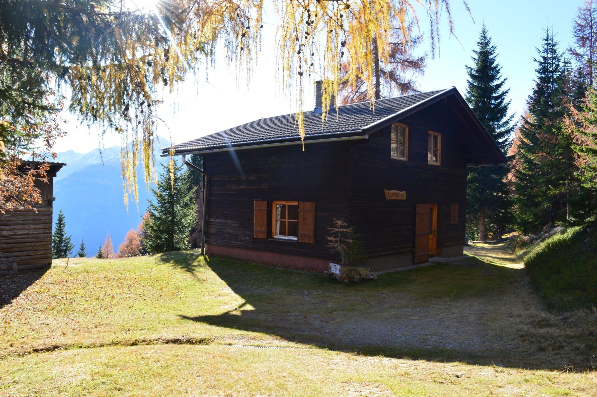 Außenansicht der Hütte