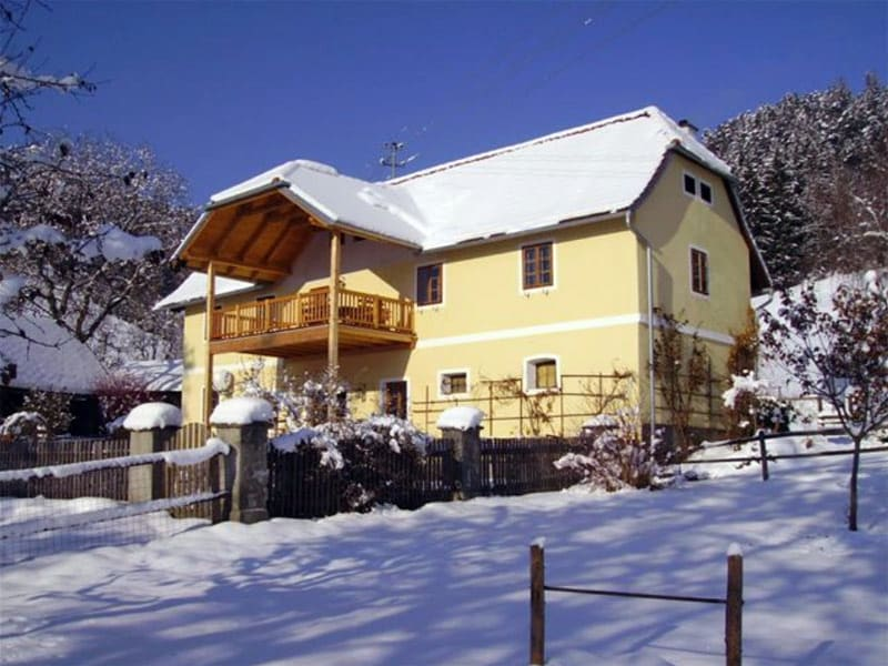 Holiday home in the winter