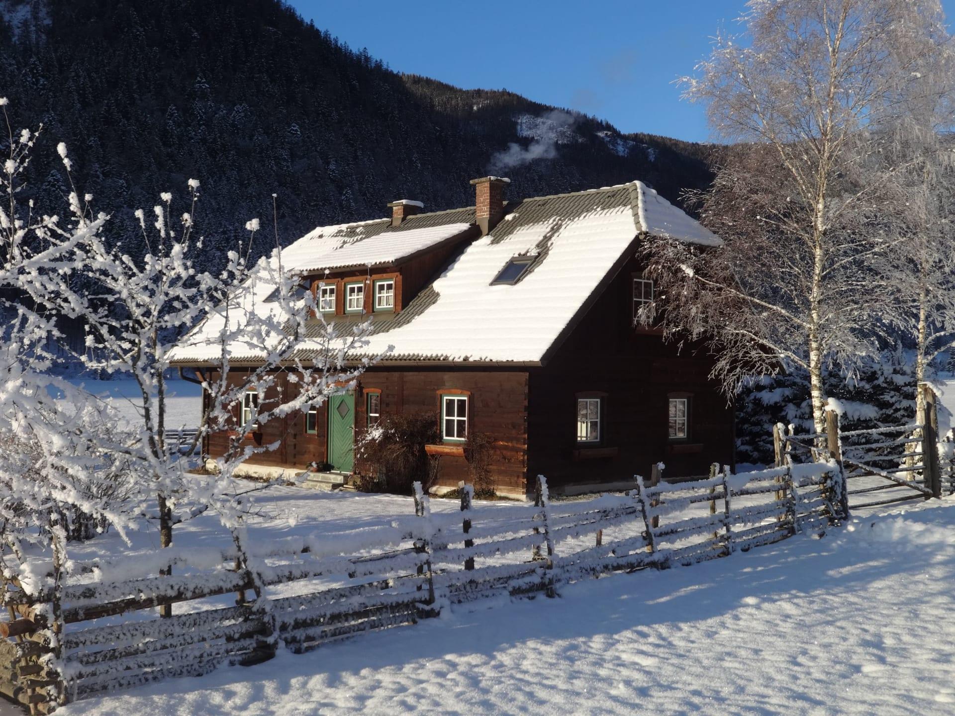 Winterlandschaft Wiesenhüter