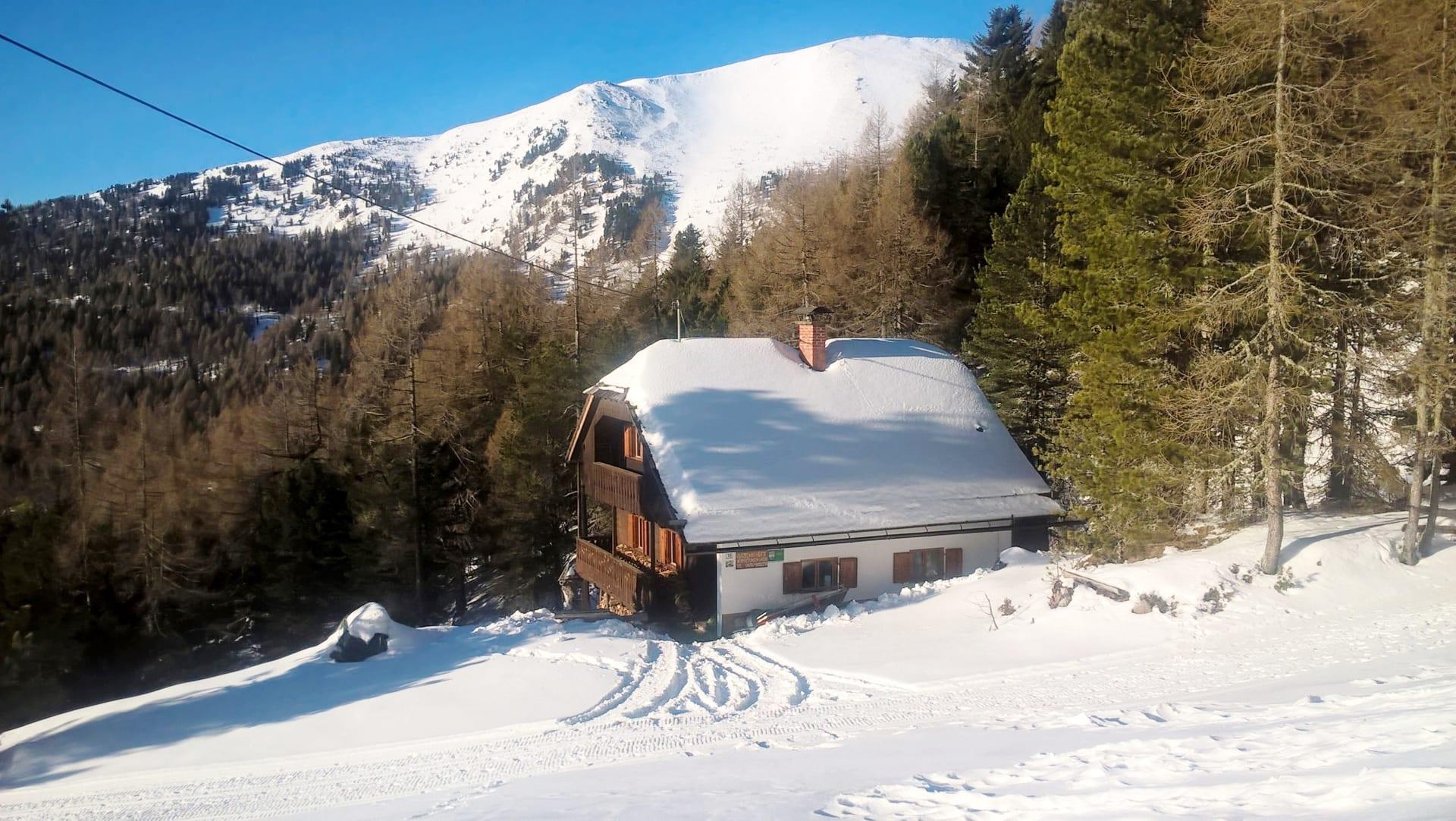 Gutzelnig-Hütte 1770 m