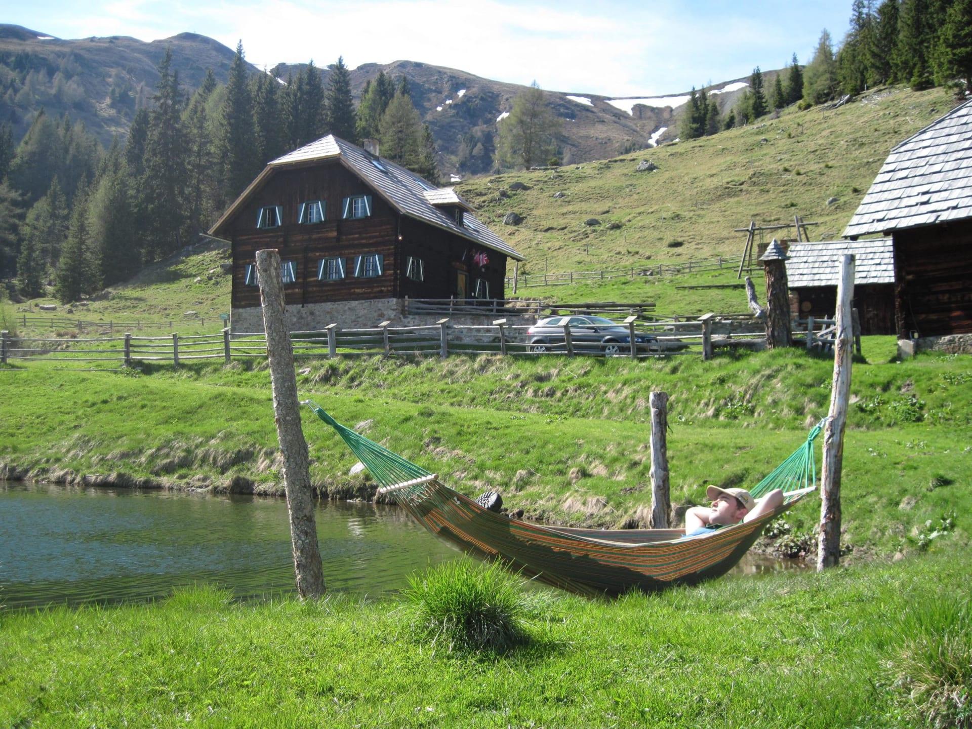 relaxen am Teich