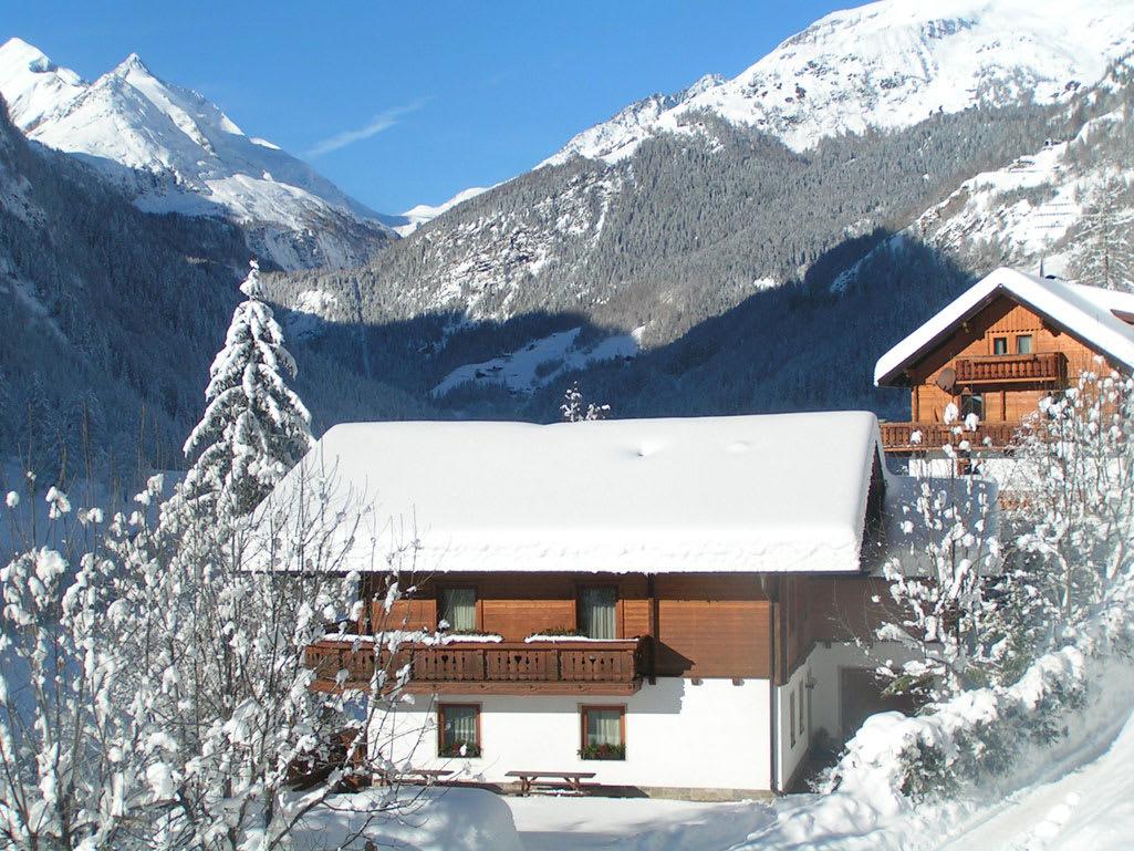 sightseeing to the skiarea
