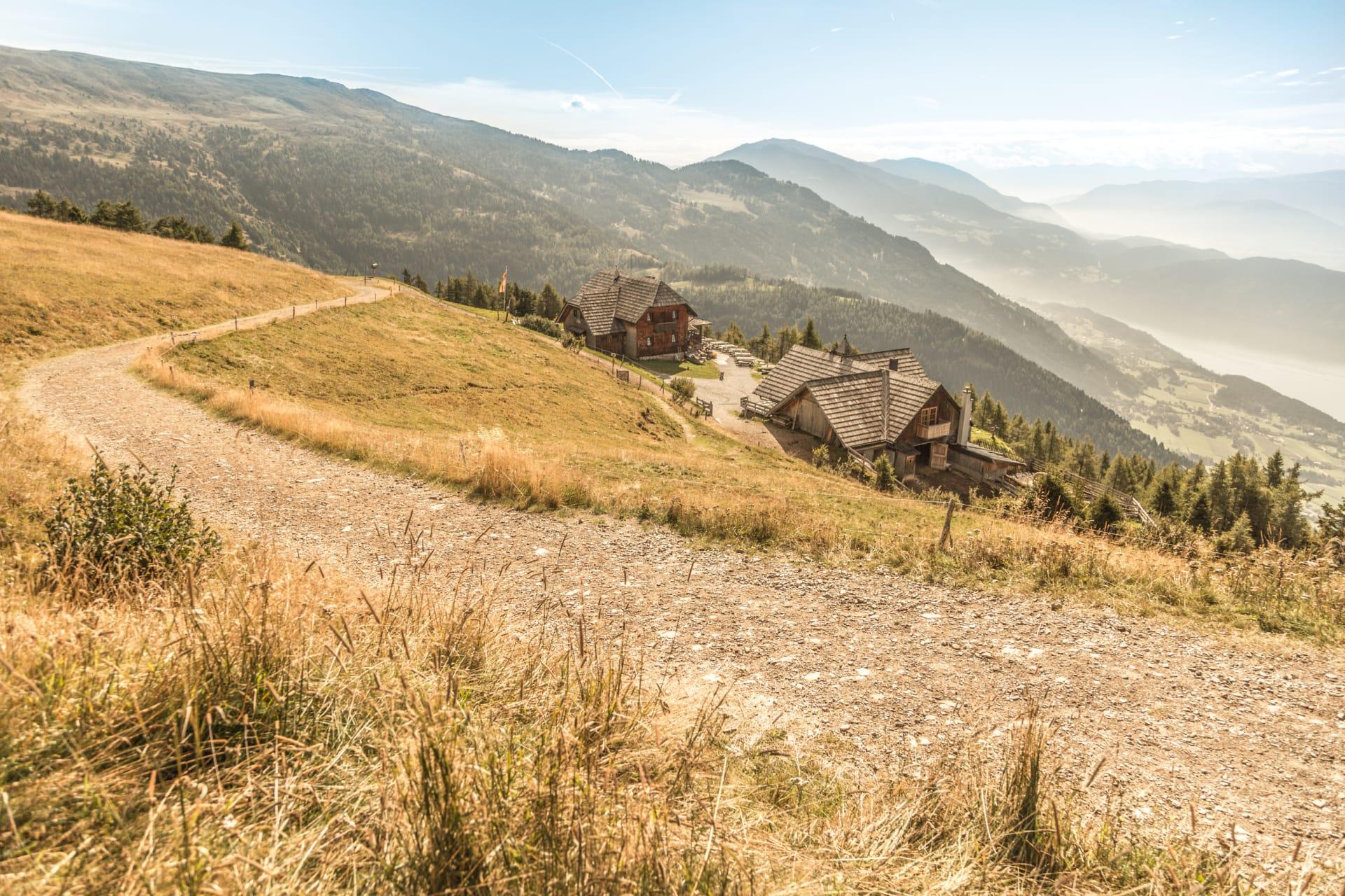 Aussicht von der Alexanderhütte auf den Millstätter See