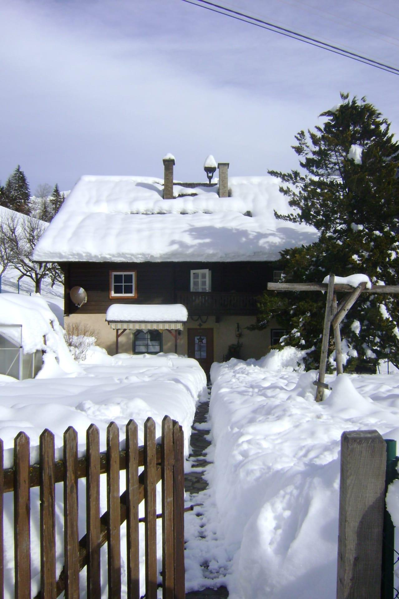 Ranacherhof im Schnee